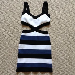 BCBG MAXAZRIA body con dress